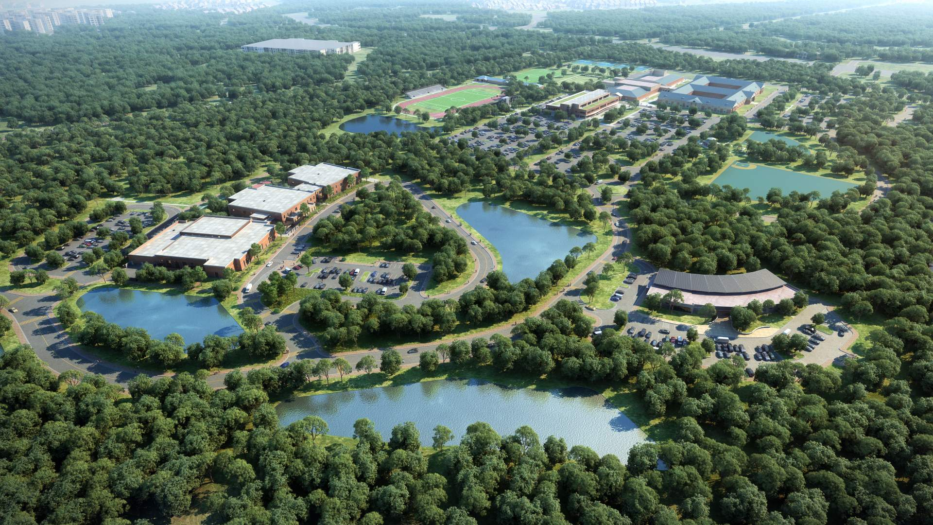 master plan of ce williams middle school