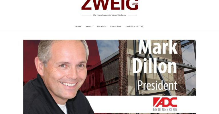 Mark Dillon's views on business and family in an interview with Zweig Group
