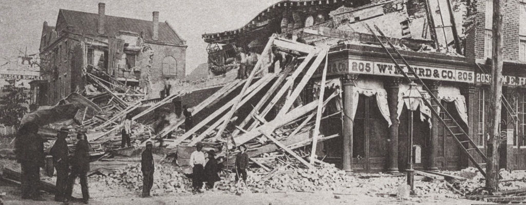 If the Earthquake of 1886 happened today…